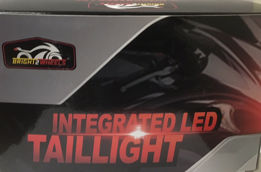 Led Tail Light Built-in Turn Signals YAMAHA 2004-2015 Road Star Red Lens