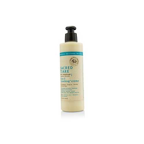"Sacred Tiare Anti-Breakage & Anti-Frizz 4-in-1 ""Combing"" Creme (For Damaged, Fragile, Frizzy & Unruly Hair) 236ml/8oz"