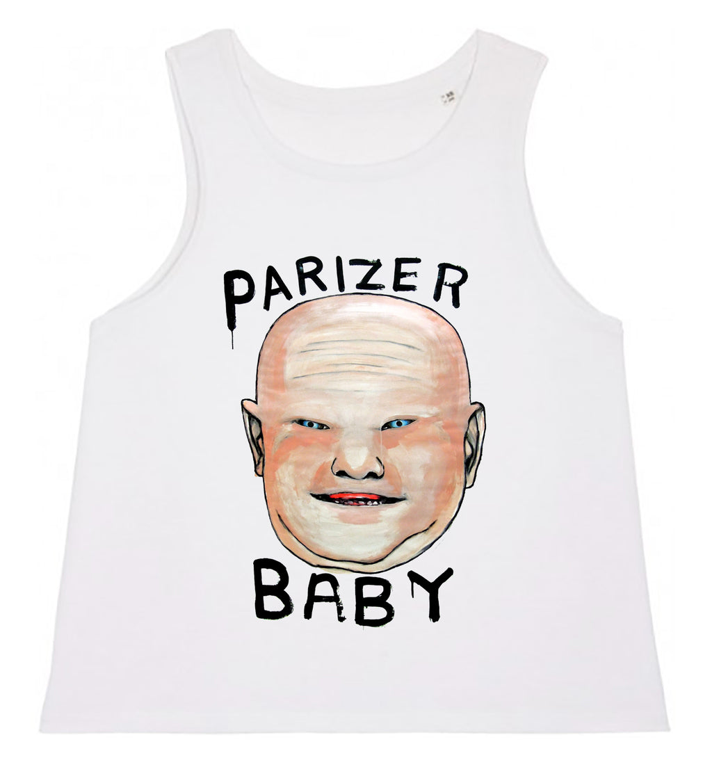 Women's Tank Top - Parizer Baby │ Lea Rasovszky - Mobius Store