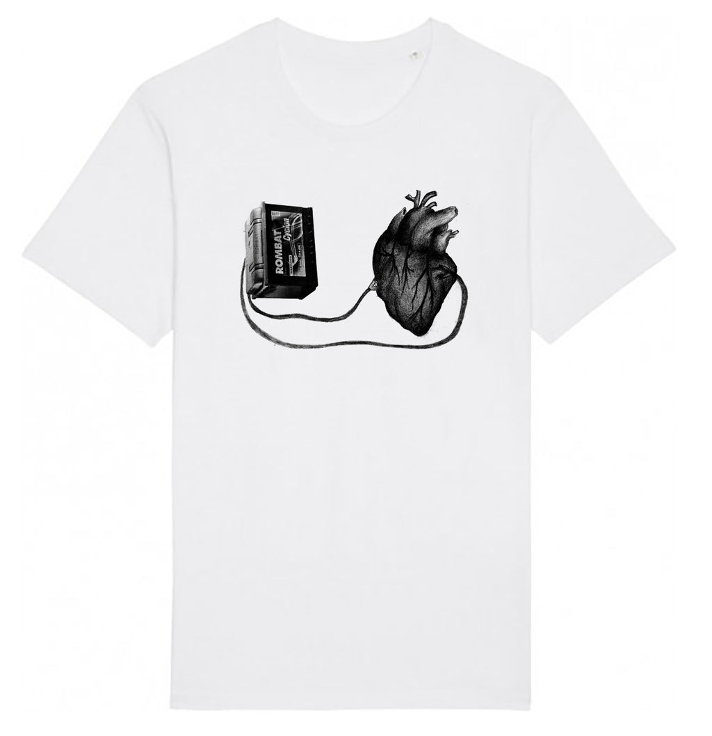 Unisex T-shirt - Left With a Broken Heart │ Sasha Bandi