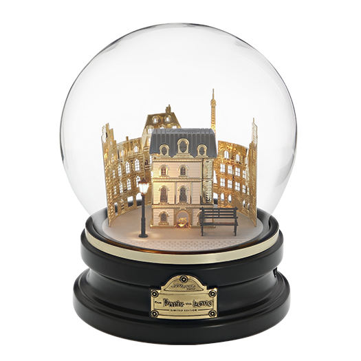 From Paris With Love Globe, Lighters By Dupont