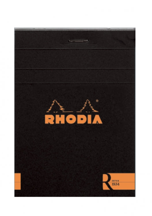 PREMIUM Rhodia Lined Pads (Black OR Orange Cover)