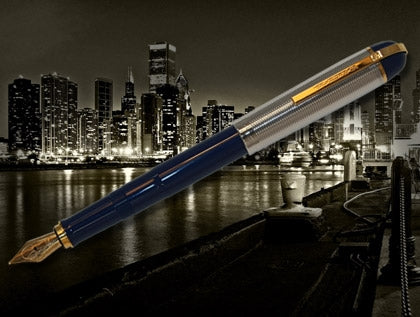 Wahl Eversharp Skyline Blue Fountain Pen.....