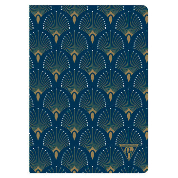 "#192236 Clairefontaine Neo Deco Collection, Sewn Spine, 6 x 8 1/4"", Lined, ""Shell"""