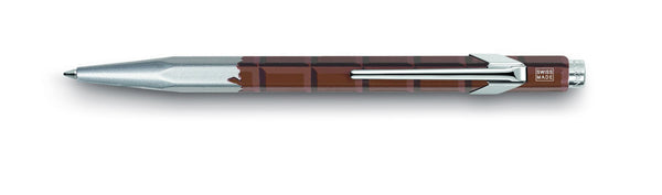 Caran d' Ache 849 CHOCOLATE Ballpoint Pen, with Holder
