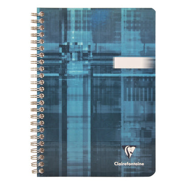 Clairefontaine Wirebound notebook 14,8x21cm 90sh. Lined