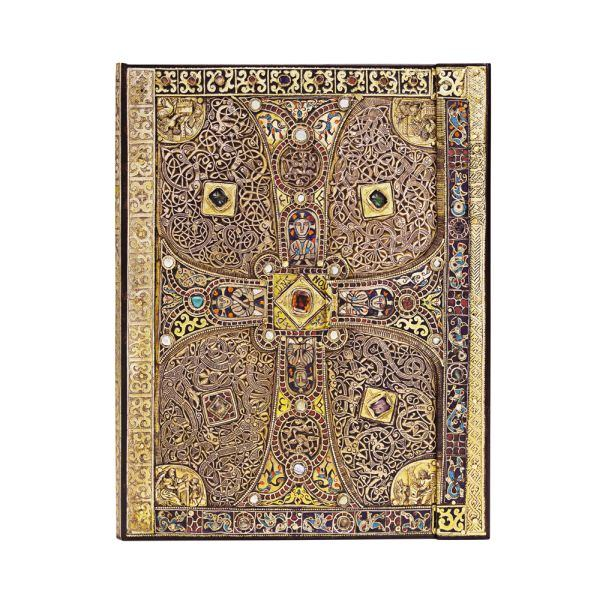 "Lindau Gospels ULTRA  WRAP JOURNAL by Paperblanks (7"" x 9"" x 3/4"")"