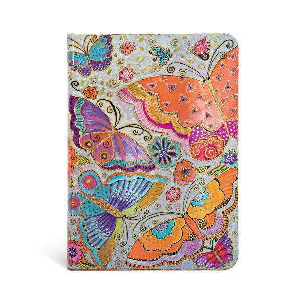 "Flutterbyes MIDI JOURNAL by Paperblanks (5"" x 7"" x ¾"")"