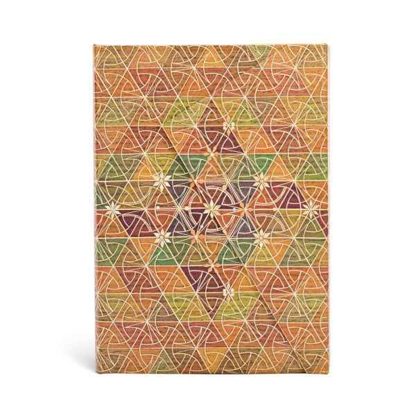 "Kirikane Metta  MIDI Wrap JOURNAL by Paperblanks (5"" x 7"" x ¾"")"