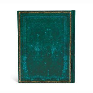 "Old Leather Classic Viridian ULTRA JOURNAL by Paperblanks (7"" x 9"" x 3/4"")"