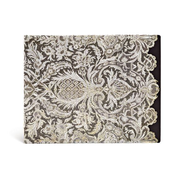 "Guest Book Lace Allure by Paperblanks (9"" x 7"" x 3/4"")"