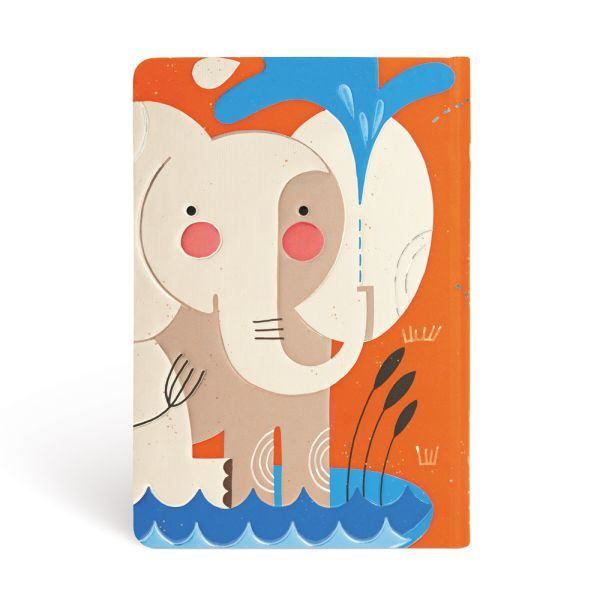"BABY ELEPHANT MINI JOURNAL by Paperblanks (3¾"" x 5½"" x ¾"")"