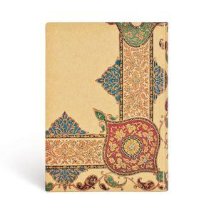 "VISIONS OF PAISLEY IVORY KRAFT FLEX MIDI JOURNAL by Paperblanks (5"" x 7"" x ¾"")"