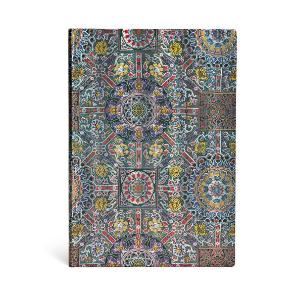 "Padma - Sacred Tibetan Textiles Grande JOURNAL by Paperblanks (8 1/4"" x 11 3/4"" x 3/4"")"