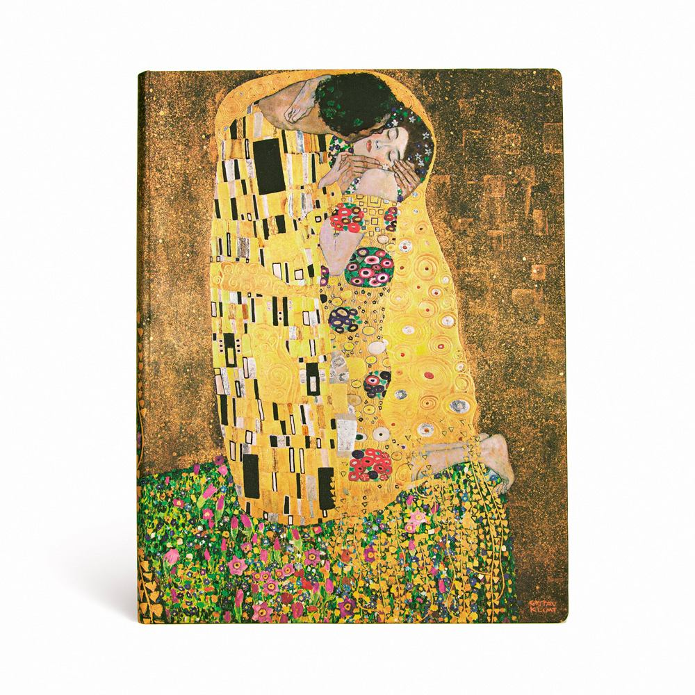 "KLIMT'S 100TH ANNIVERSARY – THE KISS  ULTRA JOURNAL by Paperblanks (7"" x 9"" x 3/4"")"