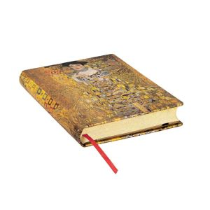 "KLIMT'S 100TH ANNIVERSARY – PORTRAIT OF ADELE MIDI JOURNAL by Paperblanks (5"" x 7"" x 1"")"