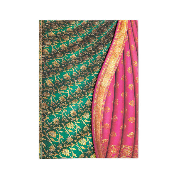 "Ferozi Varanasi Silks and Saris JOURNAL Wrap by Paperblanks (5"" x 7"" x ¾"")"