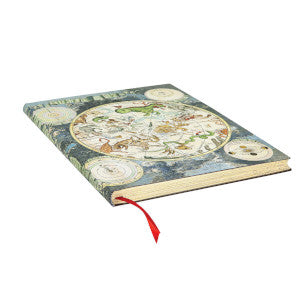 "CELESTIAL PLANISPHERE ULTRA FLEXIS JOURNAL by Paperblanks (7"" x 9"" x 3/4"")"