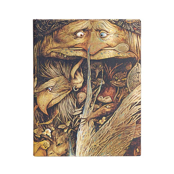 "MISCHIEVOUS CREATURES of Brian Froud's Faerielands ULTRA JOURNAL by Paperblanks (7"" x 9"" x 3/4"")"