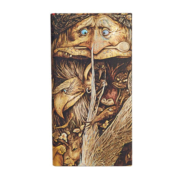 "MISCHIEVOUS CREATURES Slim JOURNAL by Paperblanks (3 3/4"" x 7"" x ¾"")"