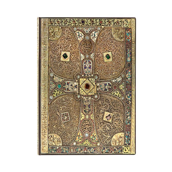 "Lindau Gospels FLEXIS MIDI JOURNAL by Paperblanks (5"" x 7"" x ¾"")"
