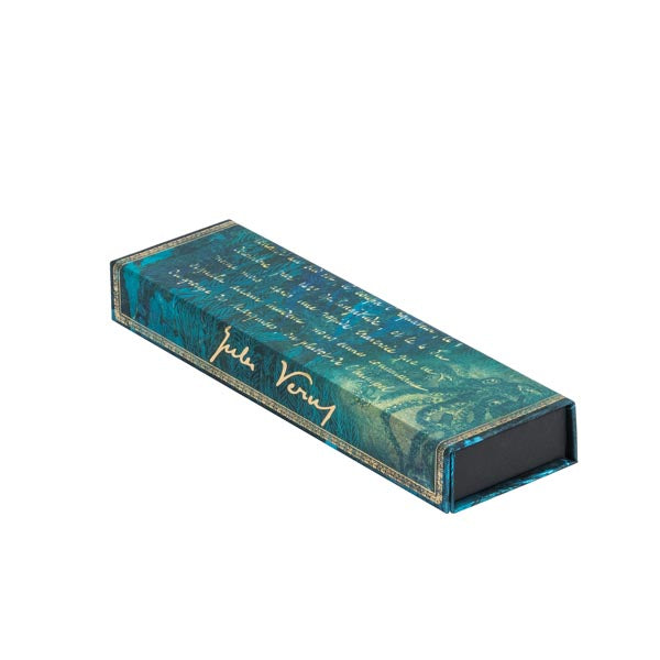 VERNE, TWENTY THOUSAND LEAGUES Pencil Case, Wrap, Paperblanks