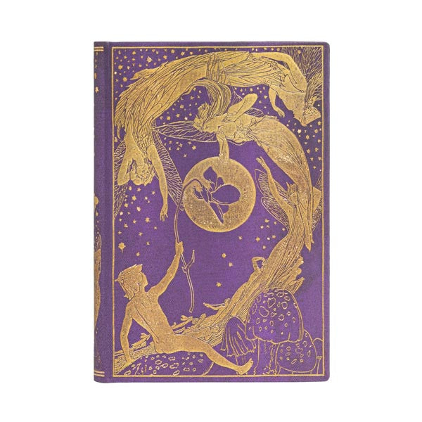 "VIOLET FAIRY MINI JOURNAL by Paperblanks (3¾"" x 5½"" x ¾"")"