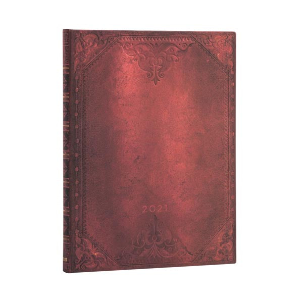 2021 Paperblanks Planner ULTRA  URBAN GLAM BOLD VERTICAL