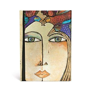 "SOUL & TEARS WRAP MIDI JOURNAL by Paperblanks (5"" x 7"" x ¾"")"