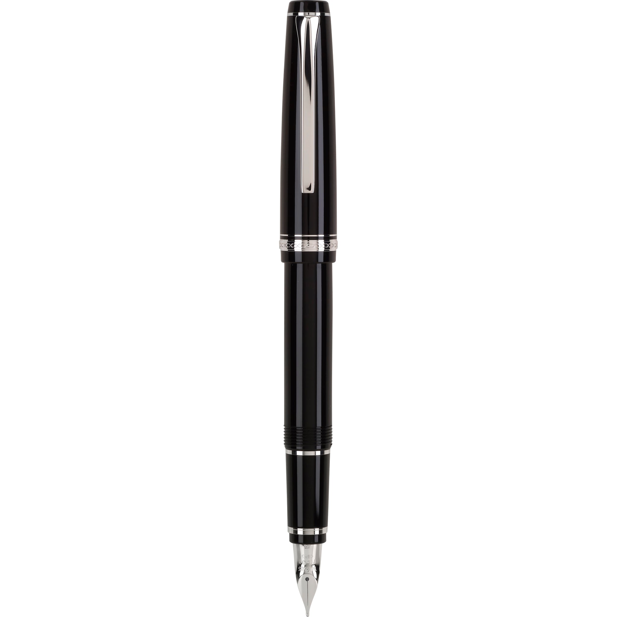 Pilot Falcon Black/Rhodium