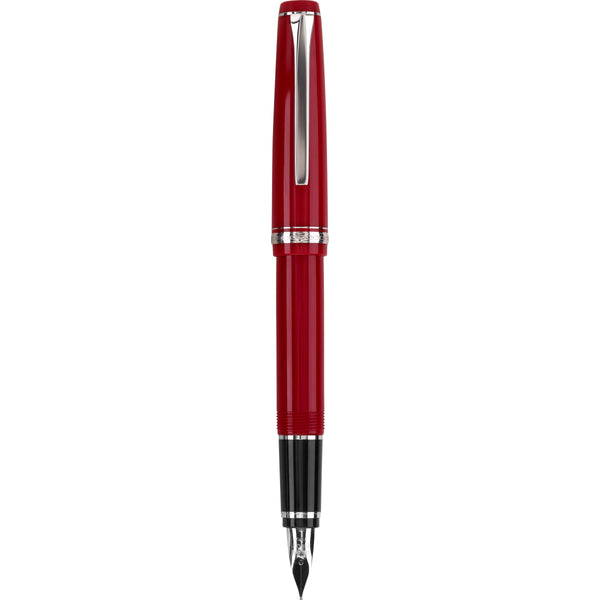 Pilot Falcon Red/Rhodium
