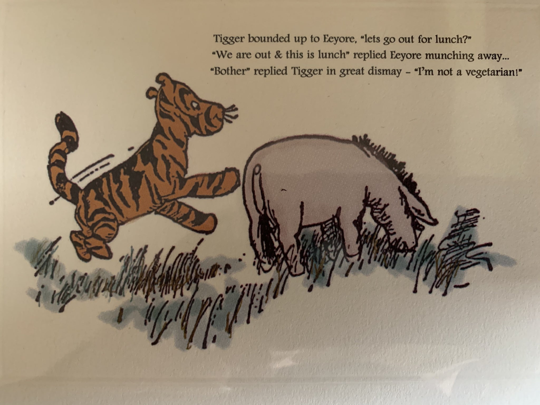 Tigger and Eeyore.... Pooh Greeting Cards, By Englishman in LA