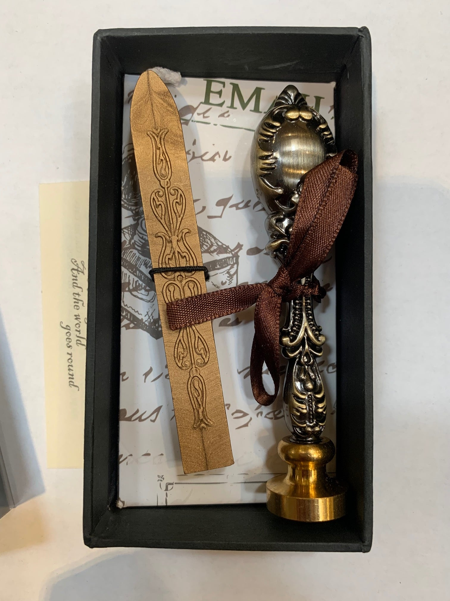 Wax Seal Kit, Ornate Handle