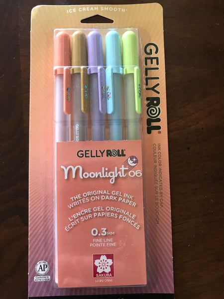 "Sakura Gelly Roll Pens ""Moonlight 06"" 5pack (#58171)"