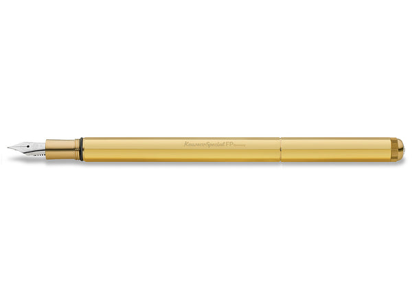 KAWECO BRASS SPECIAL AL FOUNTAIN PEN
