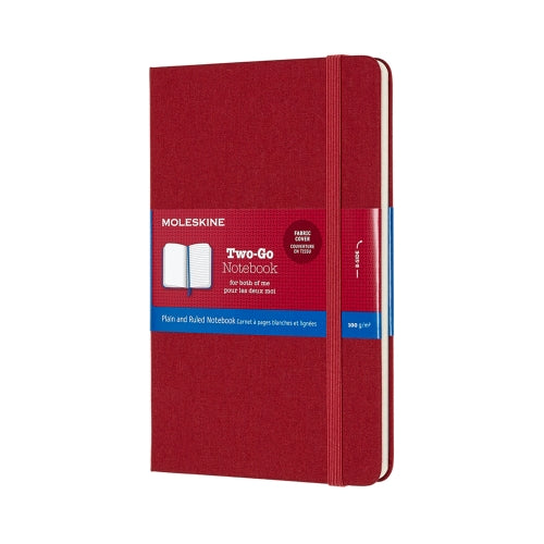 MOLESKINE TWO-GO NOTEBOOK
