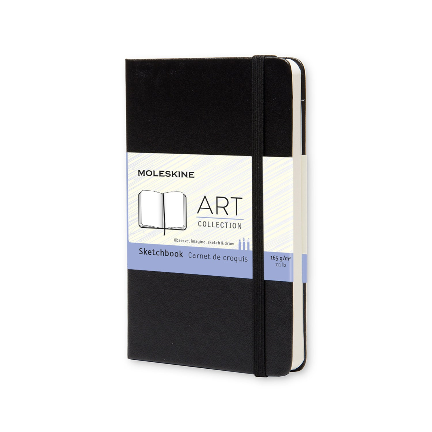 "Moleskine ART Collection Sketchbook 3 1/2"" x 5 1/2 """