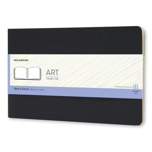 Moleskine ART Collection SketchAlbum SIZE: MIDDLE SIZE (21X13 CM / 8.26X5.11 IN)