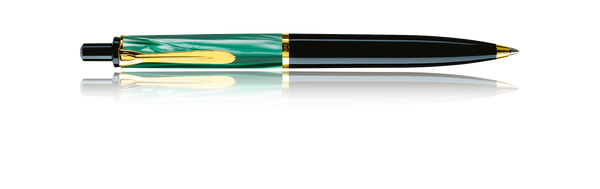 Classic 200 Green Marbled Ballpoint