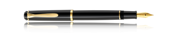 Pelikan Tradition M200 Black, Fine Nib