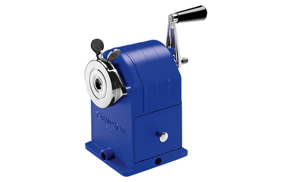 Caran d' Ache Yves Klein Blue Metal Pencil Sharpening Machine