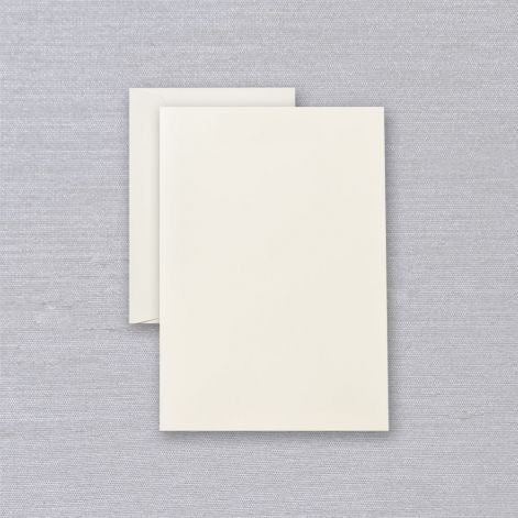 Ecru Half Sheets  40 sheets / 20 envelopes by Crane