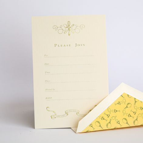 CRANE Downton Abbey Fill-In Invitation