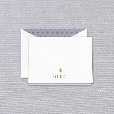 CRANE Merci Thank You Note