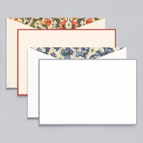 Florentine Card Assortment  8 cards / 8 lined envelope by Crane