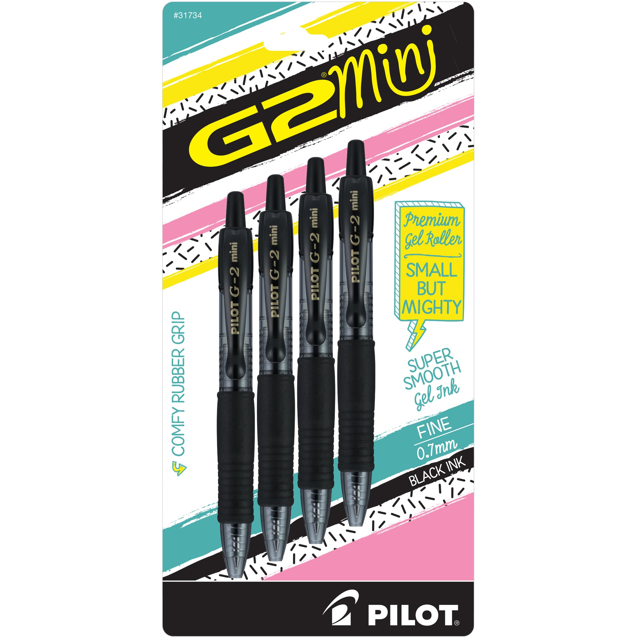 G2 Mini Retractable Gel Ink Rolling Ball by Pilot