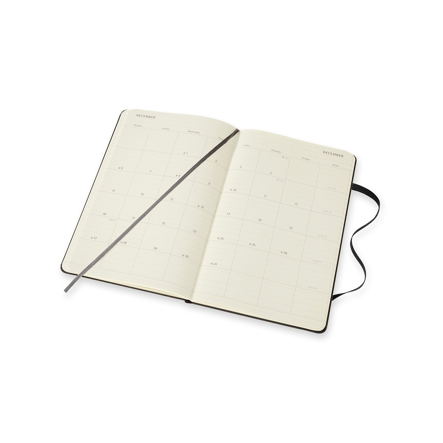 2021 Moleskine Monthly Notebook Diary/Planner Lg