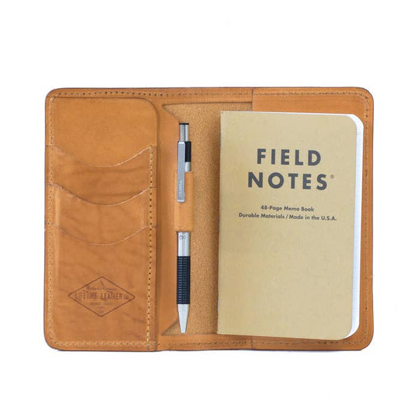 Lifetime Leather Co Notes Leather Wallet