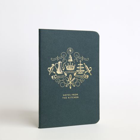 Downton Abbey Kitchen Notebook, grid, by Crane