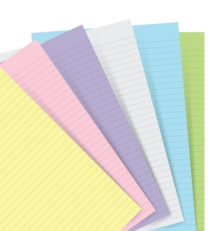 Filofax Organizer and CLIPBOOK Re-fills (PASTELS)
